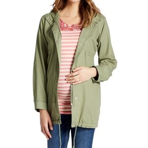 Jessica Simpson Super Soft Twill Maternity Jacket